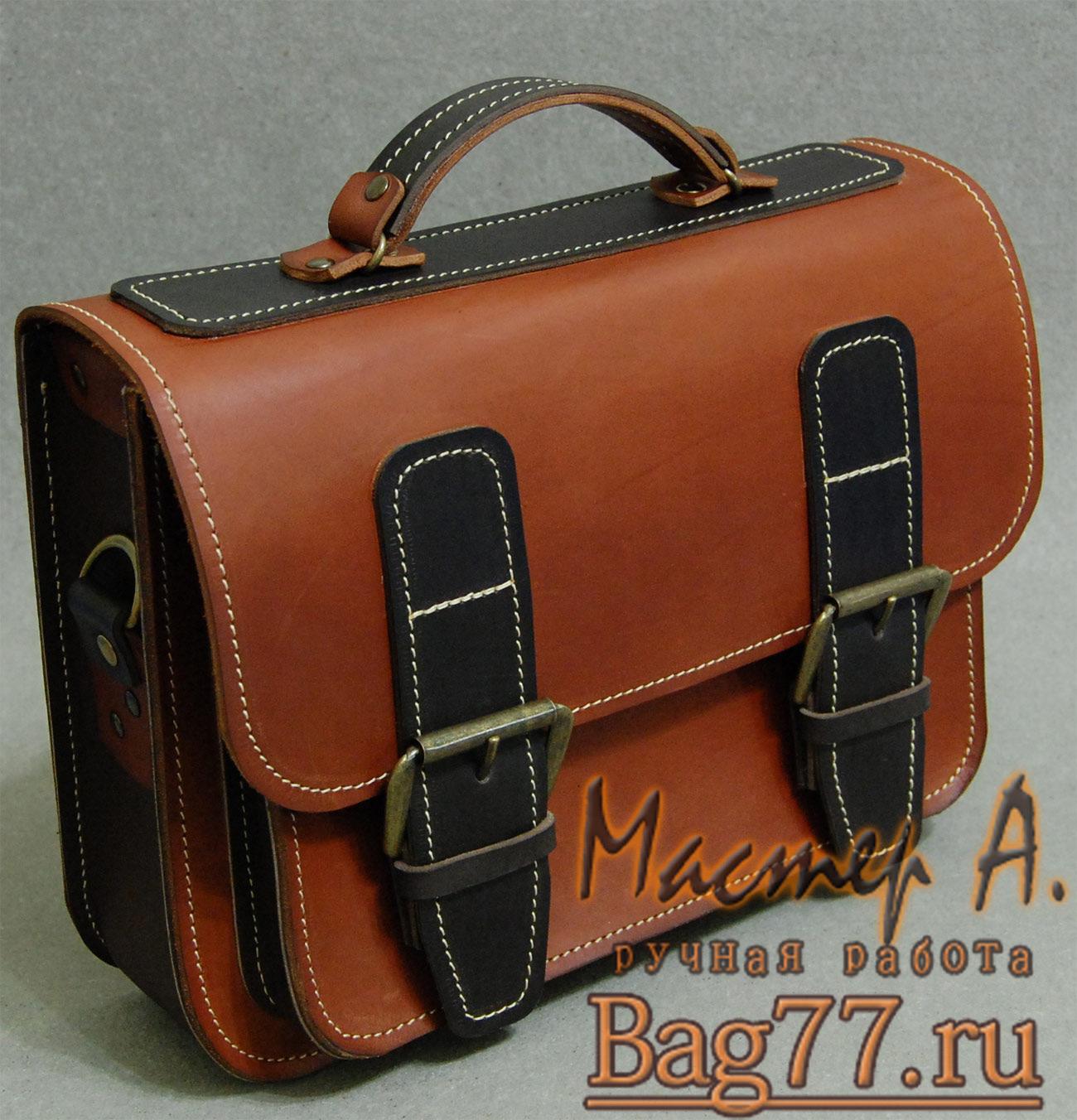Кожаный рюкзак на заказ сшить 97